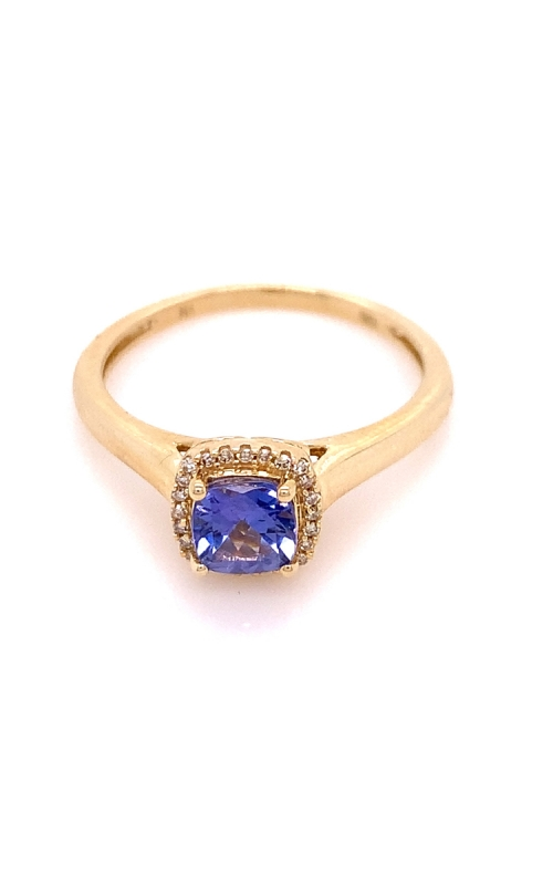 Cushion Cut Sapphire with Diamonds product image