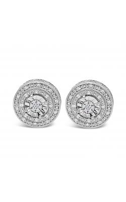 Illusion Set Diamond Earrings product image