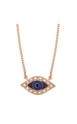 Evil Eye Necklace - Rose Gold product image