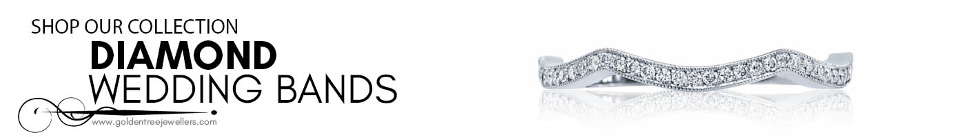 diamond wedding bands at Golden Tree Jewellers