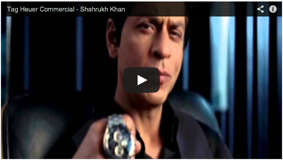 Tag Heuer - Shahrukh Khan