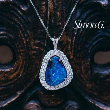 Simon G - One of a kind diamond necklace